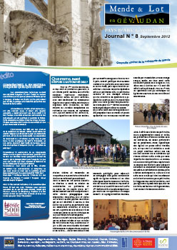 Journal n°8 Septembre 2012