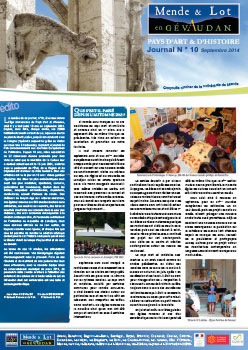 Journal n°10 Septembre 2014