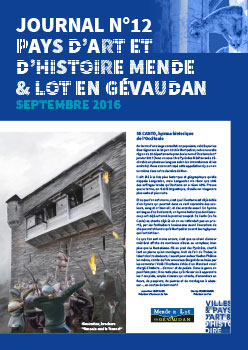 Journal n°12 Septembre 2016